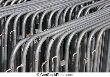 Stacked fencing - Tubular stacked fencing