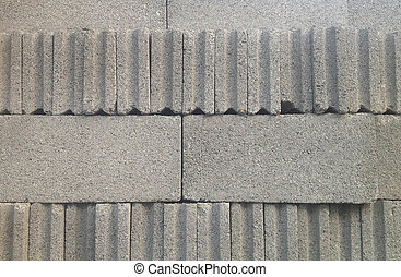 Grey Cement Block