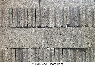 Grey Cement Block
