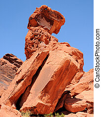 Stacked - Views from the Valley Of Fire near Las Vegas,...