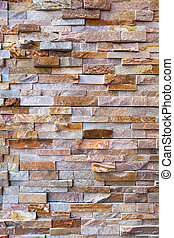 Stacked Stone Rock Wall Background