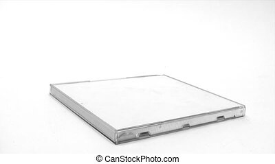 Stacking CD Cases - Canon HV30. HD 16:9 1920 x 1080 @ 25.00...