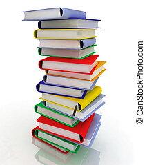 stacks of books - stacks of books