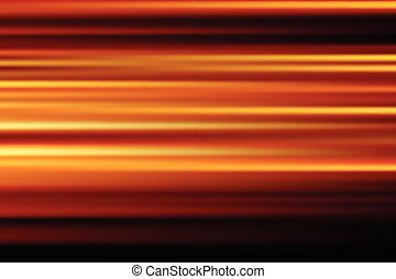 stad, abstract, verdoezelen, lang, motie, lichten, vector, achtergrond, nacht, sinaasappel, snelheid, blootstelling
