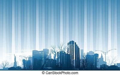 stad, achtergrond