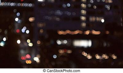 stad, gebouwen, glazig, wolkenkrabbers, kantoor, zacht,...