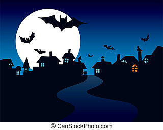 stad, halloween