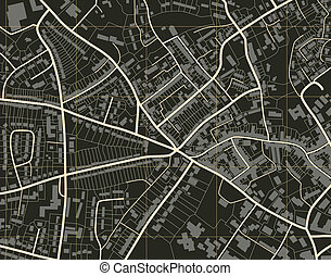 stad, karta