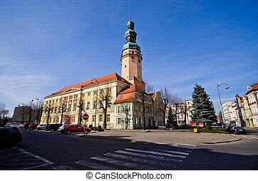 stad, Polen,  olawa, sal