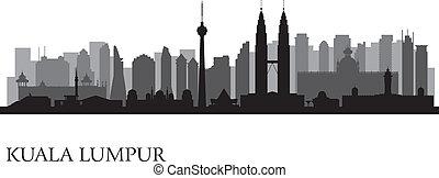 stad skyline, kuala lumpur