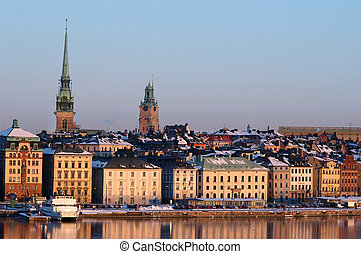 stad, stockholm