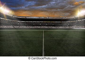 stade, football