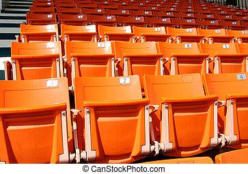 stadion leültet