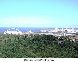 Stadium and City Views