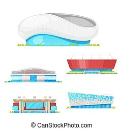 Stadium buildings and sport arenas architecture
