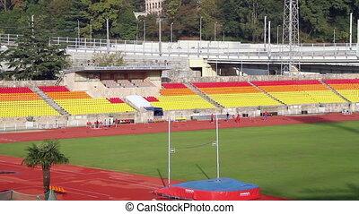 Stadium - City sport stadium.