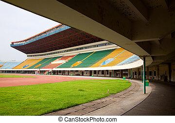Stadium - Field and tribunes