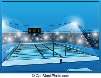 Stadium for Football