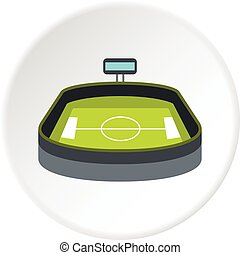 Stadium icon circle
