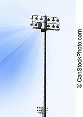 Stadium Light post
