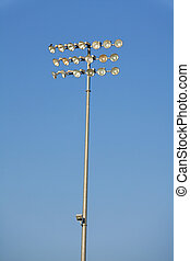Stadium Lights Isolated