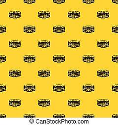 Stadium pattern vector