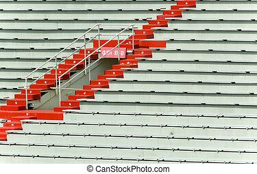 Stadium Seating - Sports Stadium bleacher seating - great...