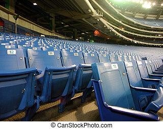 Stadium seats - Seats of skydome sport centre