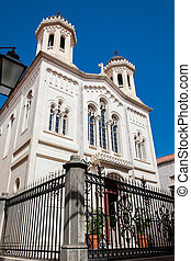 stadt, altes , heilig, orthodox, dubrovnik, kirche, verkündigung
