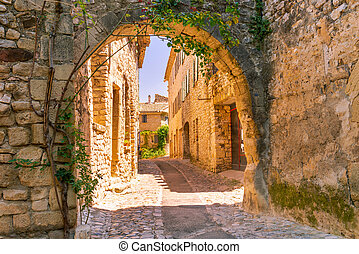 stadt, altes , provence