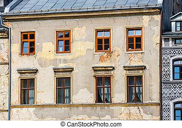 stadt, altes , zentrieren, poland., historisch, lublin