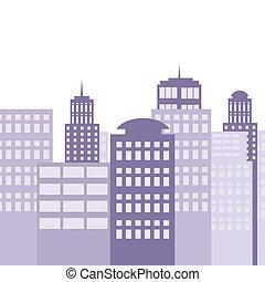stadt, architektur