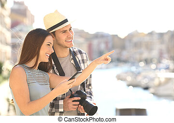 stadt, besichtigung, touristen, kueste
