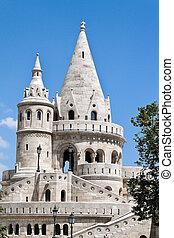 stadt, fishermen's, bastion., budapest, ungarn, ansicht