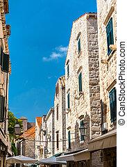 stadt, gebäude, altes , dubrovnik, traditionelle , kroatien