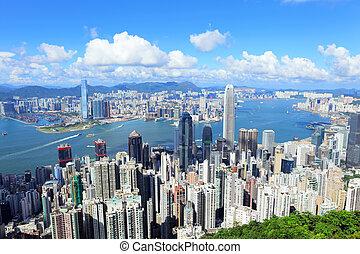 stadt, hongkong