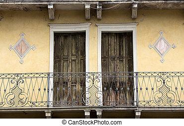stadt, italien, zentrieren, detail, historisch, architektonisch, padua.