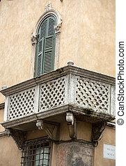 stadt, italien, zentrieren, verona., detail, historisch, architektonisch