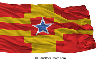 stadt, kolumbien, fahne, freigestellt, britisch, langley,...