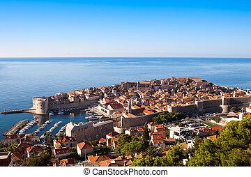 stadt, kroatien, altes , hafen, dubrovnik