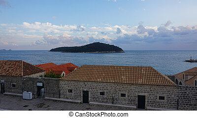 stadt, kroatien, altes , historische , dubrovnik