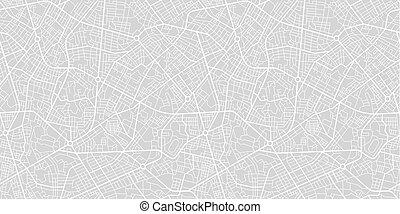 stadt, landkarte, straße