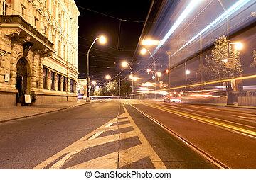 stadt- licht, spuren
