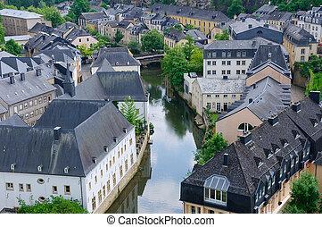 stadt, luxemburg