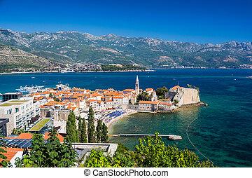 stadt, montenegro, altes , budva