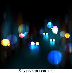 stadt, nachtleben