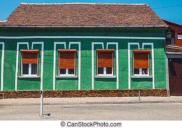 stadt, rumänien, zentrieren, medien, mittelalterlich, historische , transylvania
