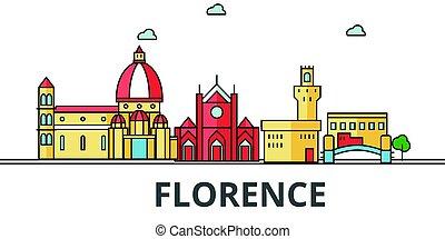stadt skyline, florenz