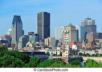 stadt skyline, montreal