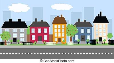 stadt skyline